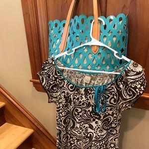Lucky brand dress Sz S w/ tote bag fr Nordstrom!!
